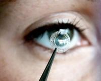 Глаз и роговичный имплант